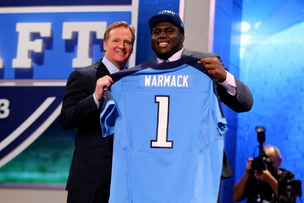Chance Warmack NFL Draft