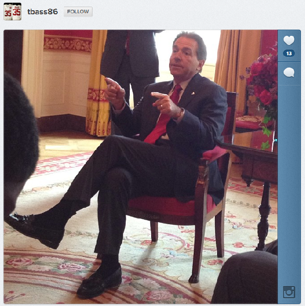 Saban Seated at White House