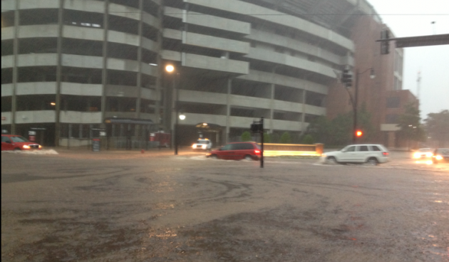 Bryant-Denny Stadium Flooding