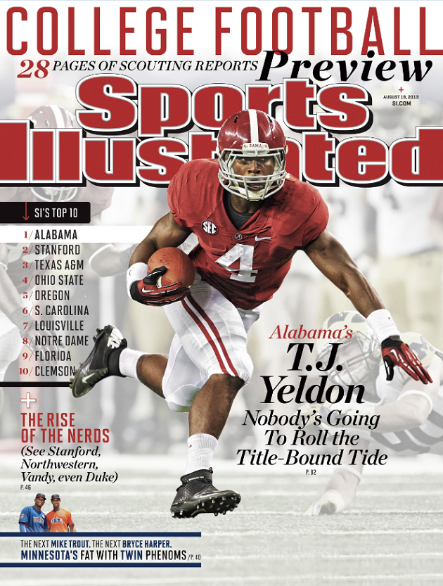 TJ Yeldon Sports Illustrated Cover